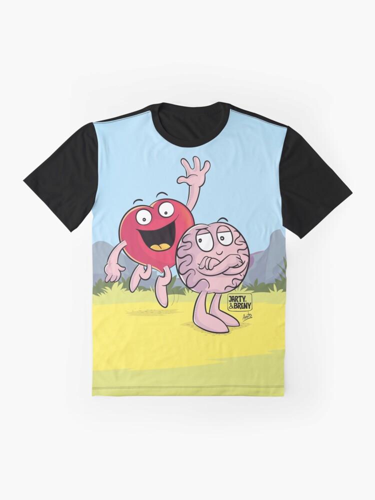 Vista alternativa de Camiseta gráfica J&B - Duo Top