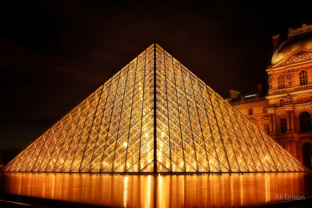 The Louvre by Ali Brown