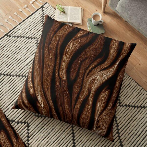 Tiger Print Floor Pillow