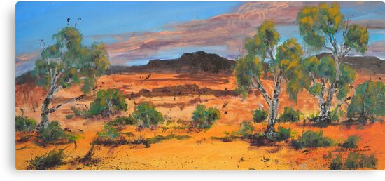 Red Country by Kay Cunningham