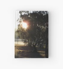 Frosty morning commute Hardcover Journal