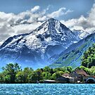 Lake Lucerne. by Lilian Marshall