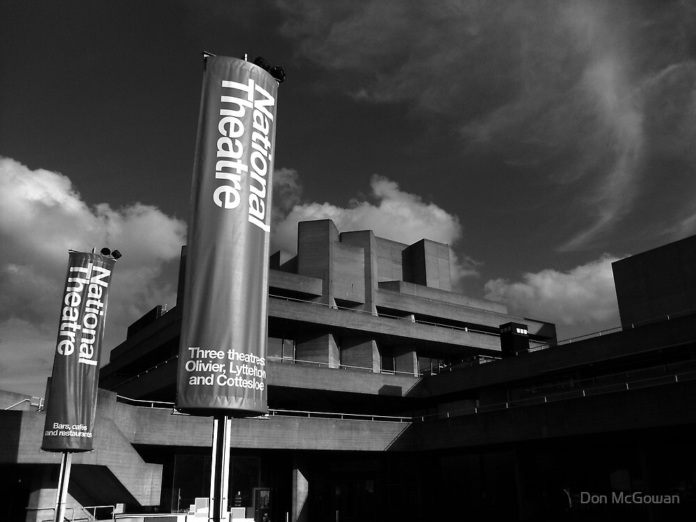 The National Theatre by Don McGowan