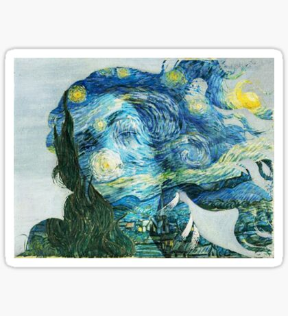 Venus Van Gogh  Sticker