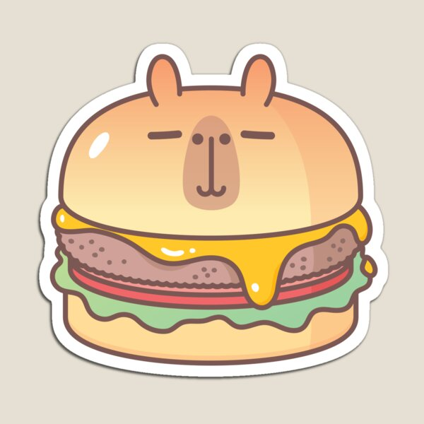 Bubu and Moonch, Moonch Burger  Magnet