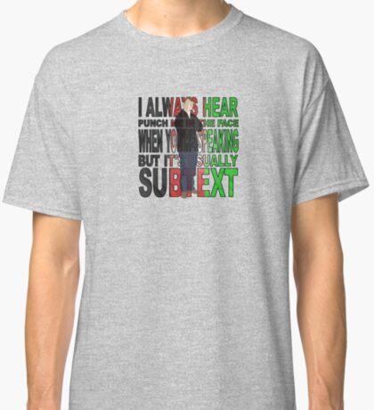 John Watson M.D. Classic T-Shirt