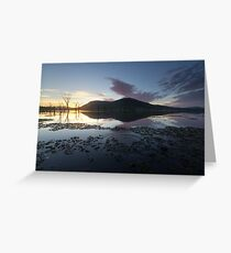 Ripples in Time Greeting Card