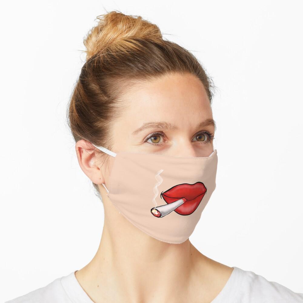 Smoking Hot Red Lips Mask