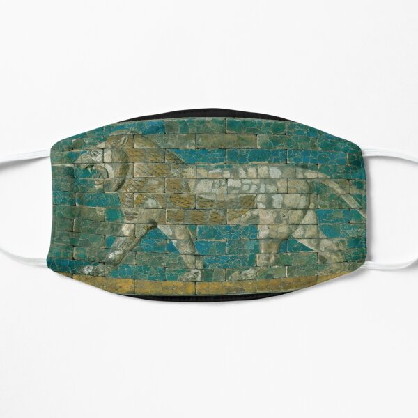 Panel with striding lion Small Mask