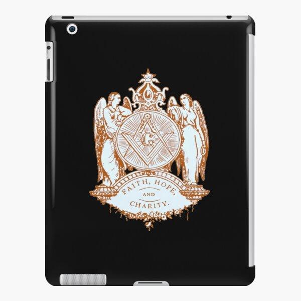 Three Moral Values of Masonry iPad Snap Case