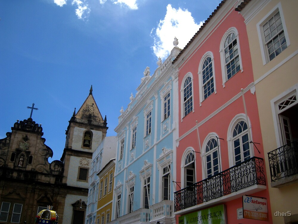 Colorful Salvador by dher5