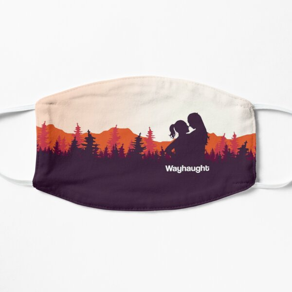 WayHaught Forest Sunset Silhouette Mask