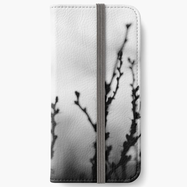 Blooms at Sunset iPhone Wallet