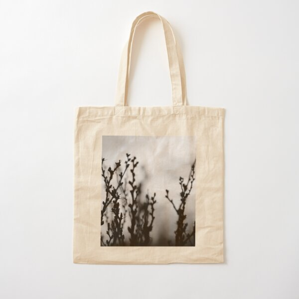 Blooms at Sunset Cotton Tote Bag