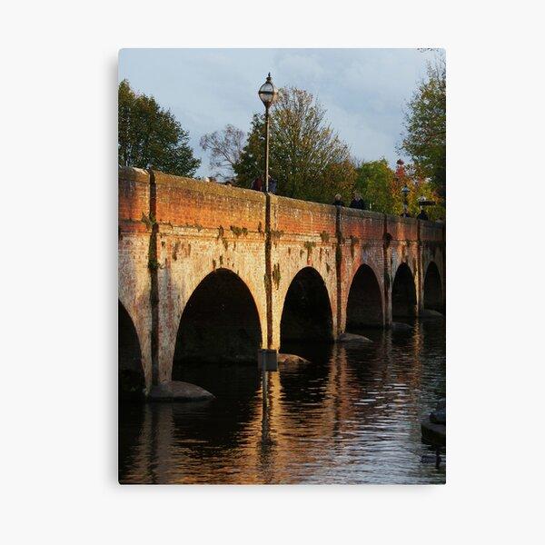 Old Bridge, Stratford-upon-Avon Leinwanddruck