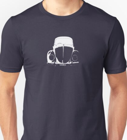 VW Beetle - White HANKO - personalised T-Shirt