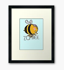 The Zombie Bee Framed Print