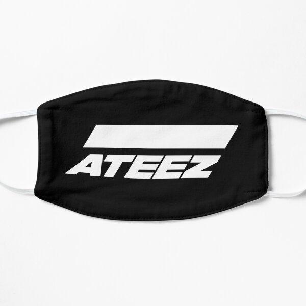 ATEEZ Logo (White) Flat Mask