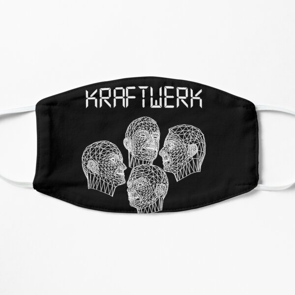 Kraftwerk Robots Flat Mask