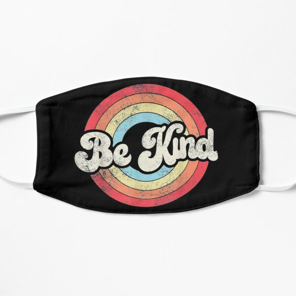 Be Kind Anti Bullying Inspirational Kindness Retro Vintage gifts Mask
