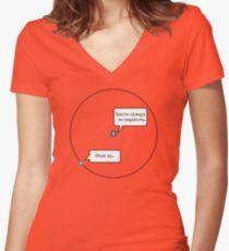 Hydrogen Women's Fitted V-Neck T-Shirt