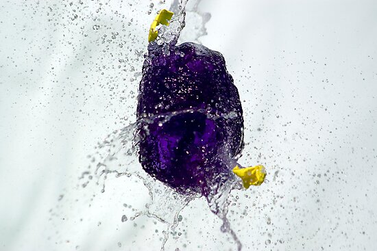 Bubble: Violet and Yellow by Phil Rhodes