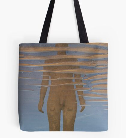 Reflection, Crosby Beach Tote Bag