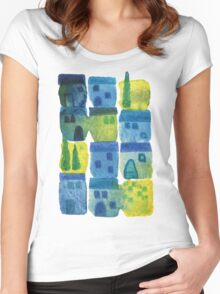 7am in Tuscany Women's Fitted Scoop T-Shirt