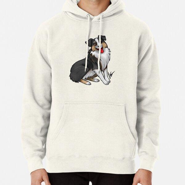 Australian Shepherd - Black Tri-Color Pullover Hoodie