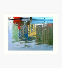 Reflections, Portsmouth Art Print