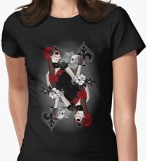 Queen of Spades Womens Fitted T-Shirt
