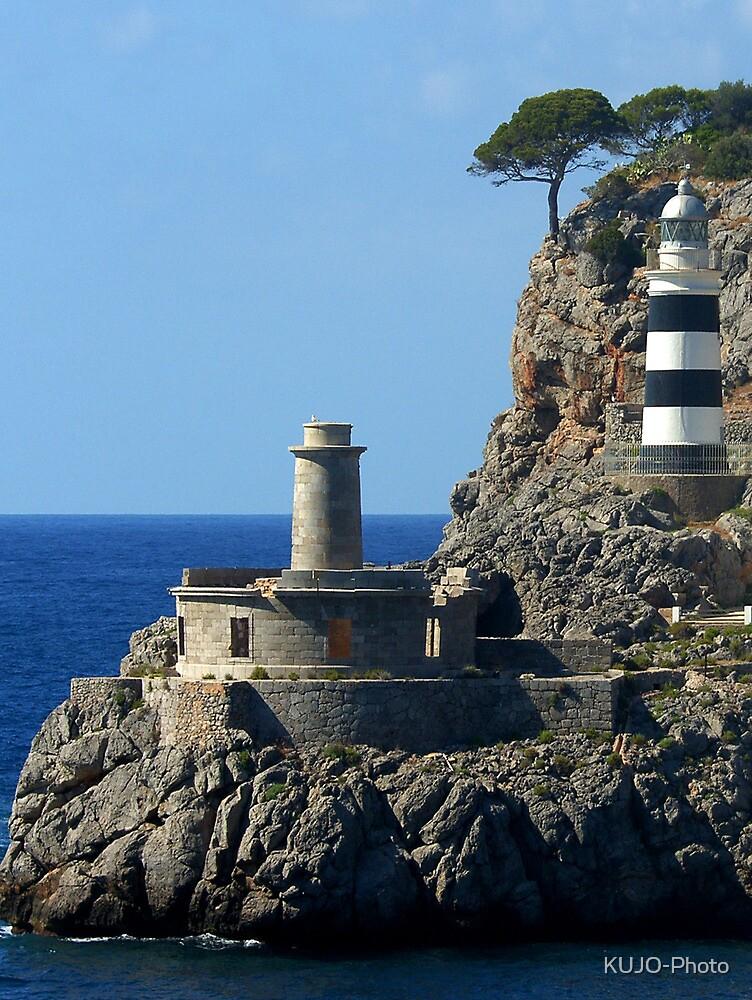 Lighthouse, Puerto de Soller, Mallorca by KUJO-Photo