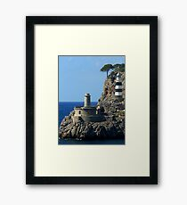 Lighthouse, Puerto de Soller, Mallorca Framed Print