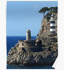 Lighthouse, Puerto de Soller, Mallorca Poster