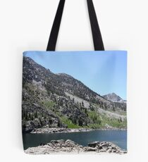 Fishing Is Fine! Come on Up. Tote Bag