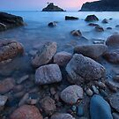 Portelet Bay in Jersey C.I by Alicja Ludwikowska