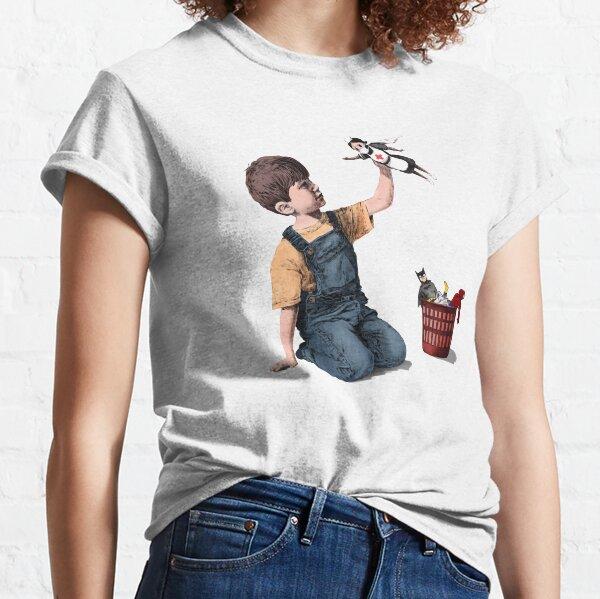 "Banksy- ""Game Changer"", Nurse super hero (colored) Classic T-Shirt"
