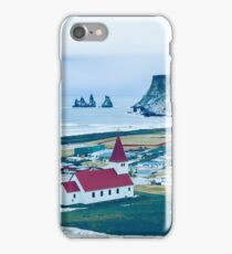 Town of Vík, Iceland  iPhone Case/Skin