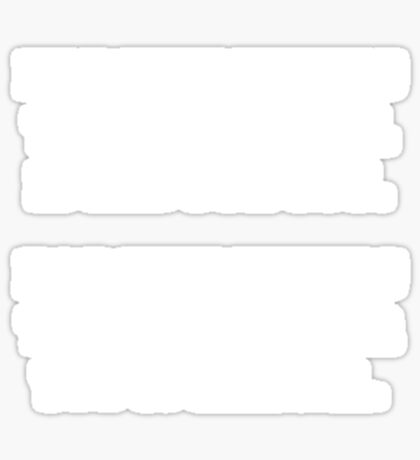 Legality - White Sticker