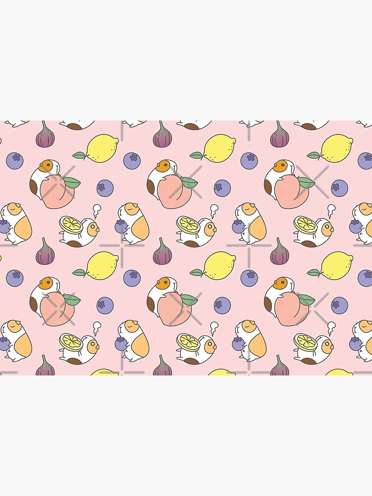 Guinea pigs with fruits pattern by Miri-Noristudio