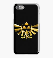Triforce Of courage  iPhone Case/Skin