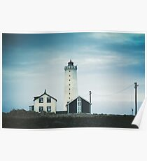 Grotta Lighthouse Poster