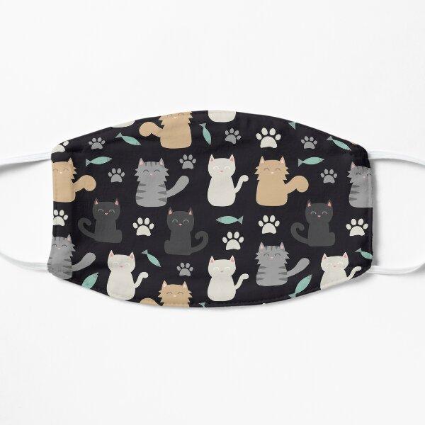 cat litter mask, Reusable & Washable, Unisex Mask  Flat Mask