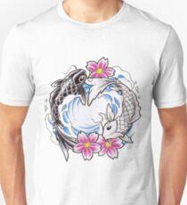 Yin Yang Chinese Koi Fish T-Shirt T-Shirt