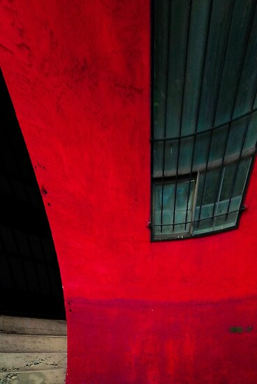 Red building by Annie Lemay  Photography