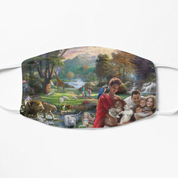 Paradise Park Flat Mask