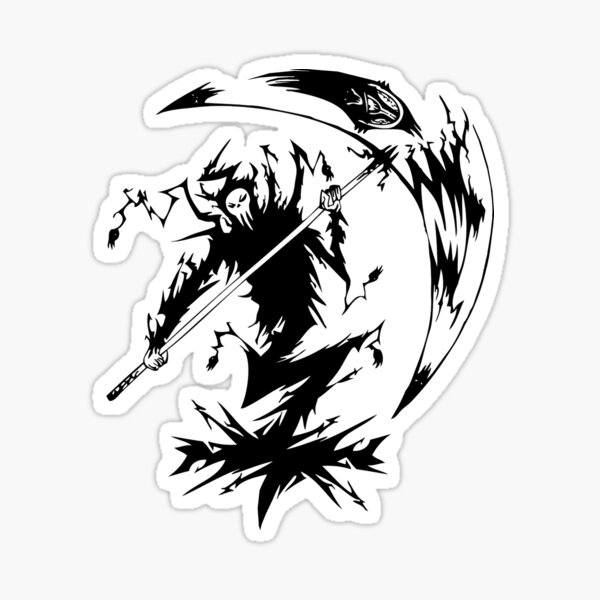 Lord Death Stickers Redbubble