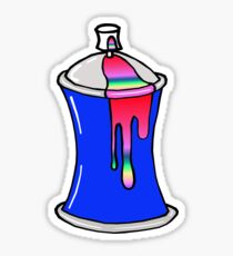 Spray Can Sticker