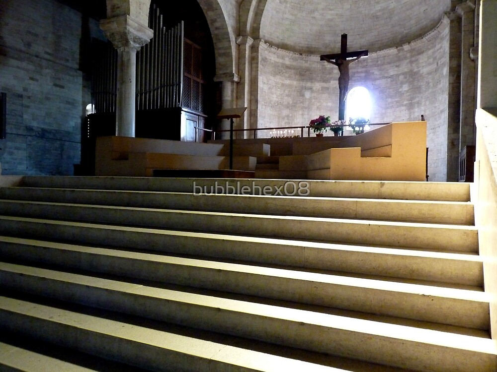 In the cathedral of Ancona, Italy by bubblehex08