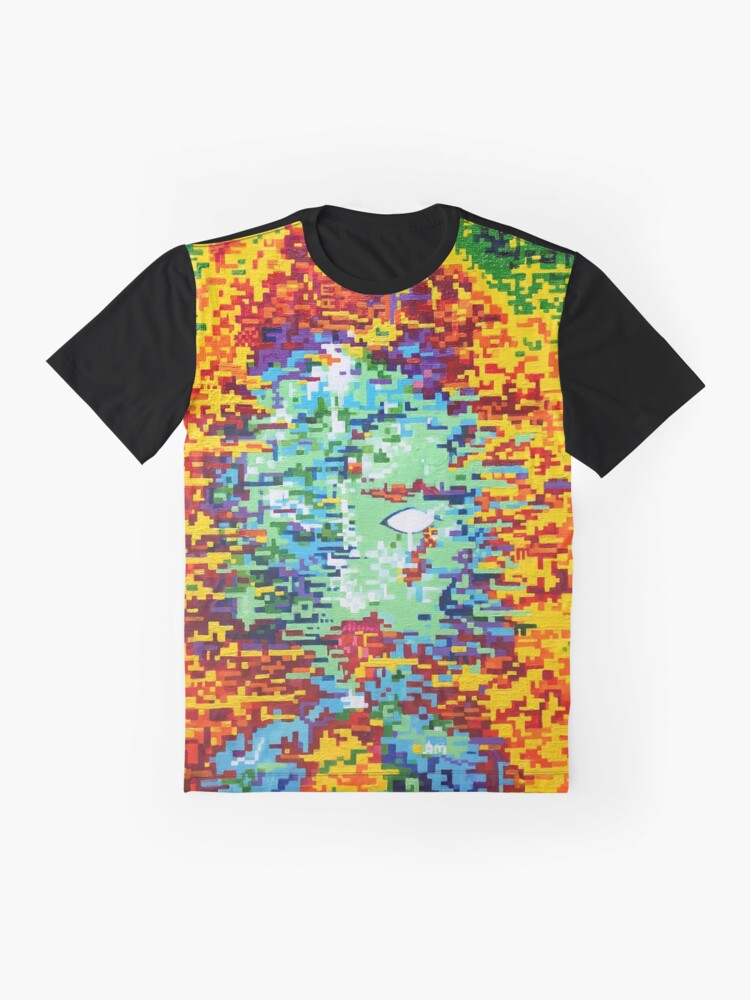 Alternate view of Depressive Doppler Deluge Graphic T-Shirt